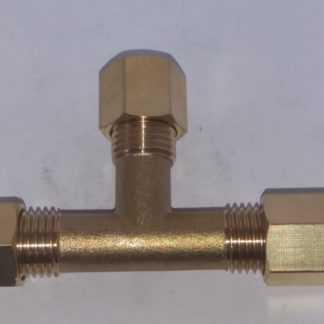 Messing 8 mm knelkoppelingen/fittingen